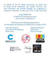 Thank you website post for NYC fundraiser small