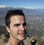 Subiendo el Cerro Manquehue, Santiago de Chile